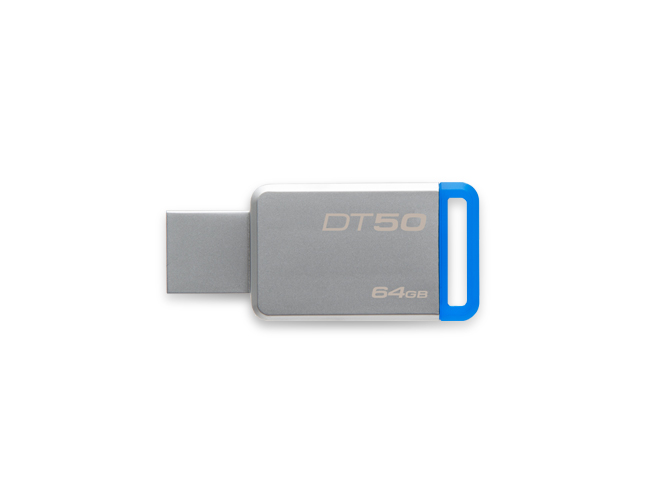 PENDRIVE 64GB USB 3.0 KINGSTON DT50