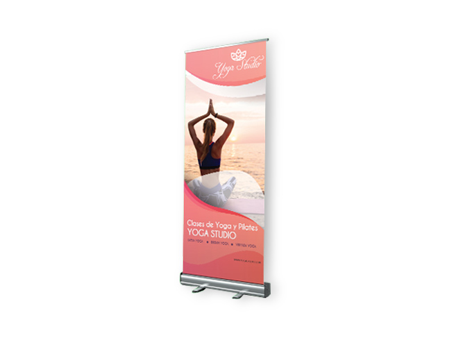 expositor roll up yoga
